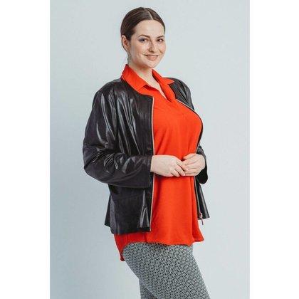 Magna Fashion Blazer K7001 LEDER LOOK SOLID