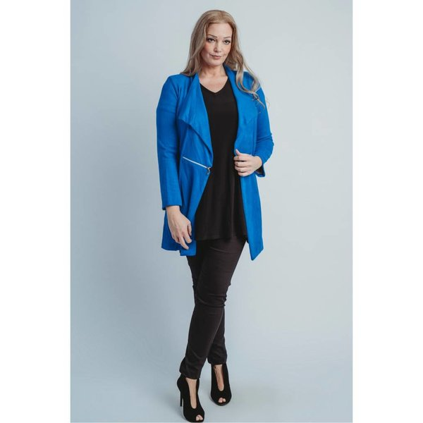Magna Fashion Blazer N6003 SUEDE FEEL