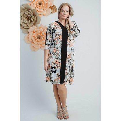 Magna Fashion Kleid C8001 PRINT