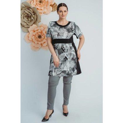 Magna Fashion Kleid C8007 PRINT