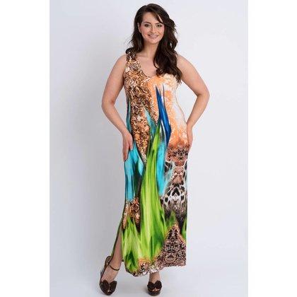 Magna Fashion Kleid C6026 PRINT