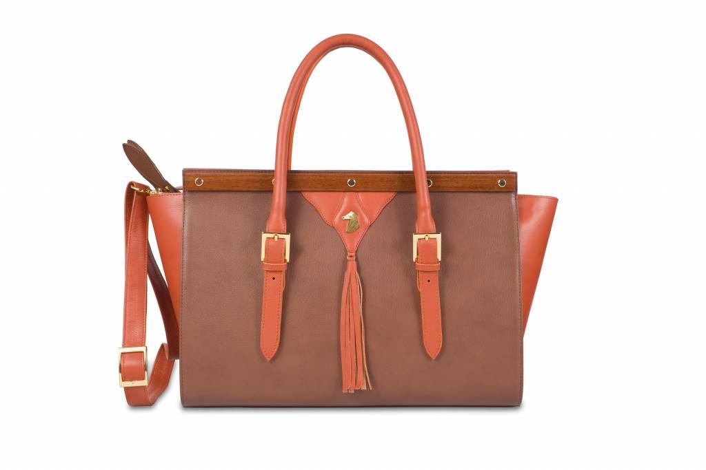 Des Ori Horse Leather Handbag