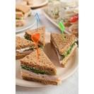 4 Verschillende mini-sandwiches