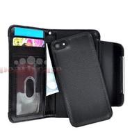 Apple iPhone 4 - Wallet / Book Case/Cover hoesje uitneembaar - Zwart