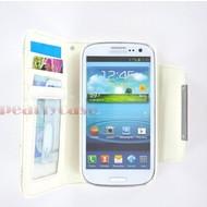 Samsung i9190 Galaxy S4 Mini- Wallet Case hoesje uitneembaar-Wit