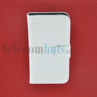 Apple iPhone 4/4S - Wallet Book Case/ hoesje Slim -Wit