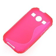 Samsung Galaxy Xcover 2 - Tpu Siliconen Case Hoesje S-Style Roze