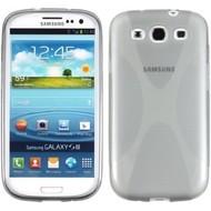 Samsung Galaxy S3 - Tpu Siliconen Case Hoesje X-Style Smoke