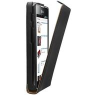 LG optimus L7-2- P715 dual - PU Leder Flip case hoesje - zwart