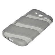 Samsung Galaxy S3 - Tpu Siliconen Case Hoesje Shadow Smoke