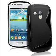 Samsung Galaxy Trend - Tpu Siliconen Case Hoesje S-Style Zwart
