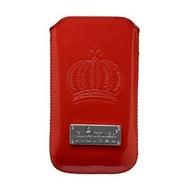 Glööckler Apple iPhone 4/4S - insteek hoesje limited - Rood