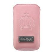 Glööckler Apple iPhone 4/4S - insteek hoesje limited - Roos