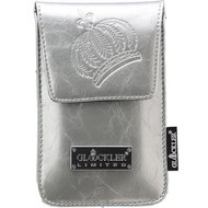 Glööckler Apple iPhone 4/4S - insteek Tasje limited met magneet - Zilver