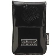 Glööckler Apple iPhone 4/4S - insteek Tasje limited met magneet - Zwart