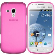 Samsung Galaxy Trend - Tpu Siliconen Case Hoesje Roze