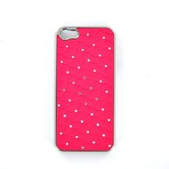 Apple iPhone 5/5S - Hard Case Hoesje Diamond Roze