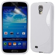 Samsung Galaxy S4 - Tpu Siliconen Case Hoesje S-Style Wit