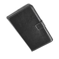 Samsung Galaxy S5 - Wallet Bookstyle Case Lederlook Zwart