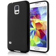 Samsung Galaxy S5 - Tpu Siliconen Case Hoesje Zwart