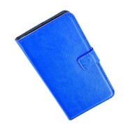 Samsung Galaxy S5 - Wallet Bookstyle Case Lederlook Blauw