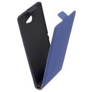 Sony Xperia M2  -Leder  Flip case/cover hoesje - Blauw