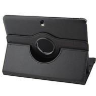 Samsung Galaxy Tab 4 (8.0) - Hoes 360° Draaibare Case Zwart