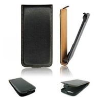 HTC Desire 310 - Flip Case Cover Hoesje Lederlook Zwart