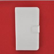 HTC Desire 310 - Wallet Bookstyle Case Lederlook Wit