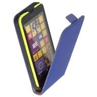 Nokia Lumia 630  -Leder  Flip case/cover hoesje - Blauw