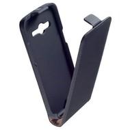 Samsung Galaxy Core LTE G386F  -Leder  Flip case/cover hoesje - Zwart