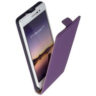 Huawei Ascend P7 - Flip Case Cover Hoesje Leder Paars
