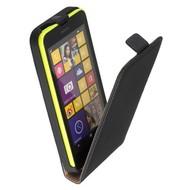 Nokia Lumia 630  -Lederlook  Flip case/cover hoesje - Zwart