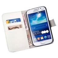 Samsung Galaxy Core 2 - Wallet Bookstyle Case Y Wit