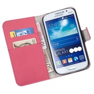 Samsung Galaxy Core 2 - Wallet Bookstyle Case Y Roze