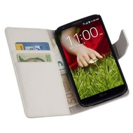 LG G2 - Wallet Bookstyle Case Y Wit