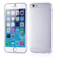 Apple Iphone 6 - Tpu Siliconen Case Hoesje Transparant