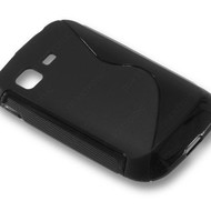 Samsung Galaxy Pocket 2 - Tpu Siliconen Case Hoesje S-Style Zwart