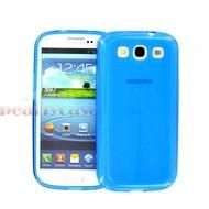 Samsung Galaxy S3 Neo - TPU Siliconen Case Hoesje Blauw