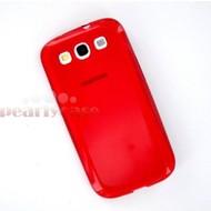 Samsung Galaxy S3 Neo - Tpu Siliconen Case Hoesje Rood