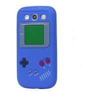 Samsung Galaxy S3 Neo - Siliconen Case Gameboy Hoesje Blauw