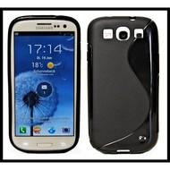 Samsung Galaxy S3 Neo - Tpu Siliconen Case Hoesje S-Style Zwart