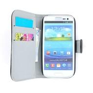 Samsung Galaxy S3 Neo - Wallet Bookstyle Case Premium Zwart