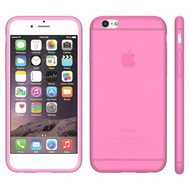 Apple Iphone 6S - Tpu Siliconen Case Hoesje Roze