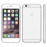 Apple Iphone 6S - Tpu Siliconen Case Hoesje Wit