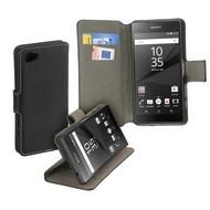 Sony Xperia Z5 Compact - Smartphone Hoesje Wallet Book Style Y Case Zwart