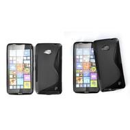 Microsoft Lumia 640 -Tpu Siliconen Case Hoesje S-Style Zwart