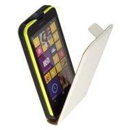 Microsoft Lumia 640 XL - Flip Case Cover Hoesje Leder Wit