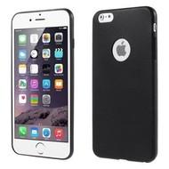 Apple Iphone 6 - Tpu Siliconen Case Hoesje Zwart