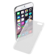 Apple Iphone 6 Plus - Pvc Siliconen Case Ultra Slim Hoesje Wit Transparant